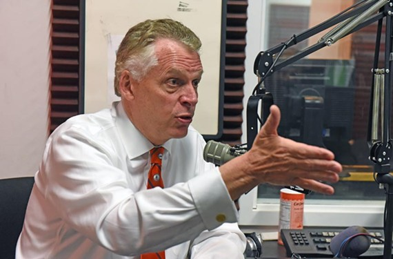 "On his ""Ask the Governor"" show last week, broadcast from the studios of Newsradio 1140 WRVA, Gov. Terry McAuliffe discusses a CNN report of a federal investigation into his finances."