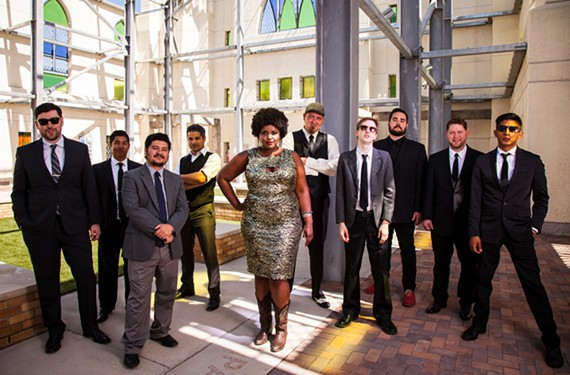 Last time the Suffers played Richmond a few months ago opening for Lake Street Dive, they had the sold-out National crowd ecstatic by the time soulful lead singer Kam Franklin appeared during the headliner's set.