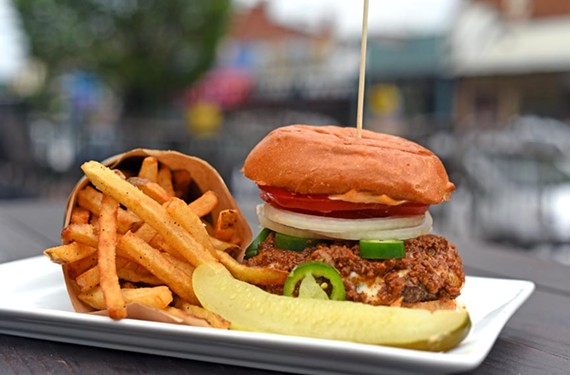 The Carytown restaurant's grass-fed and finished beef comes from Timbercreek Farm outside Charlottesville. The Hotness burger will set your mouth on fire with sriracha mayonnaise, fresh jalapeños and a dollop of chili.
