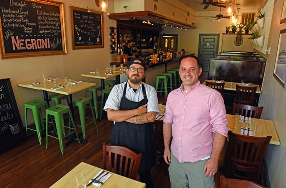 Chef Ian Merryman and owner Patrick Harris transformed the old Belvidere on Broad space to Antler & Fin, which specializes in exotic and familiar eats.