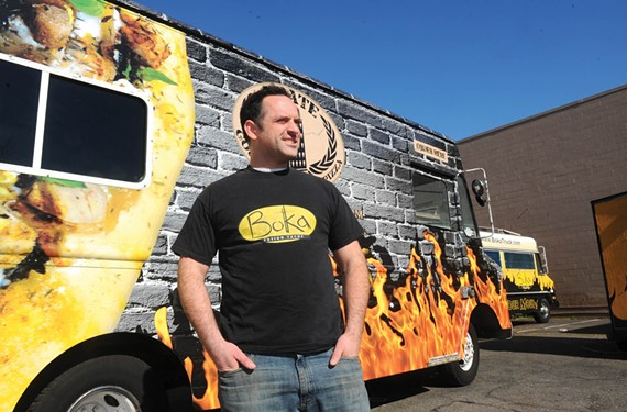 Patrick Harris started with one Boka Tako truck and will soon have three Boka-branded restaurants throughout the city.
