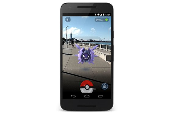 In the newly released Pokemon Go, players can catch colorful monsters on their smartphones.
