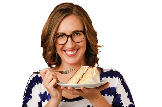 Caroline Wright wants to make cake-baking easy.