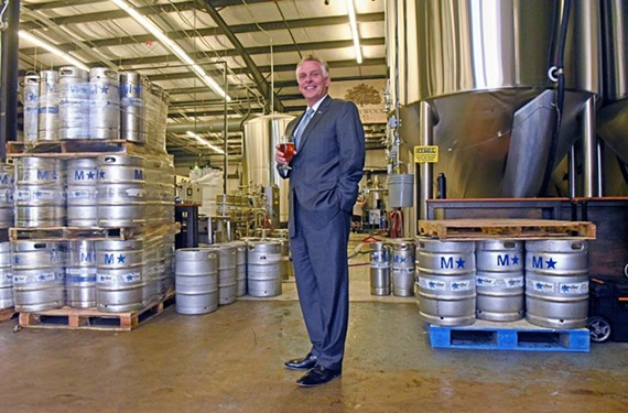 Gov. Terry MacAuliffe plans to visit every brewery in Virginia during his term — a job made much harder by the rapid growth in the industry.