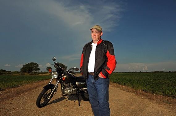 Dan Barto, 53, has been a part-time bail bondsman since 2011.