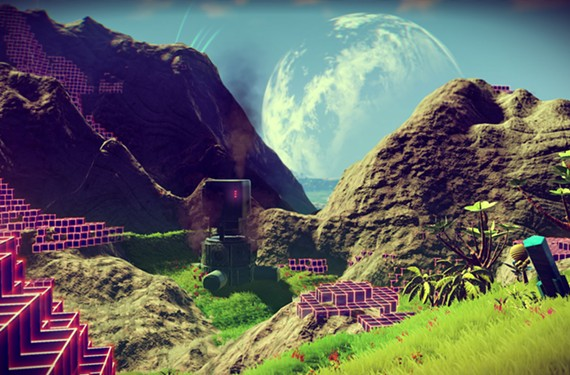 """The ambitious and beautiful """"No Man's Sky"""" offers a disappointingly shallow experience, but hints at exciting possibilities."""