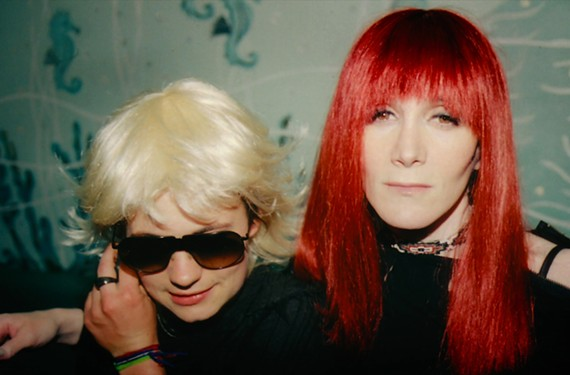 "Savannah Knoop and Laura Albert in ""Author: the JT Leroy Story,"" the new documentary by Jeff Feuerzeig, the director of ""Devil and Daniel Johnston."""