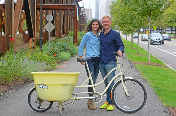 Andrea Gleason, the designer and founder of Helena Noelle, and her husband, Patton Gleason, the president of Thrivident, moved to Richmond 15 years ago and never looked back.