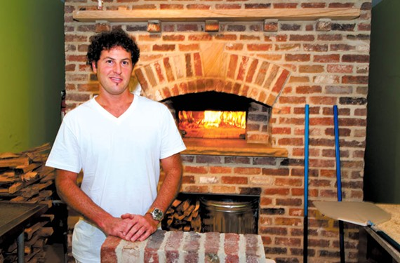 Billy Fallen, pictured here at the now-closed Aziza's on Main, has sold Billy Bread to Lecker Baking Co.