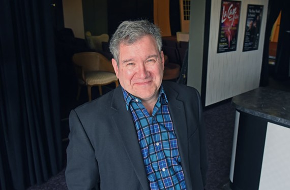 """Phil Crosby was just made executive director of Richmond Triangle Players, a theater group whose mission includes community """"explorations of equality, identity, affection and family, across sexual orientation and gender spectrums."""""""