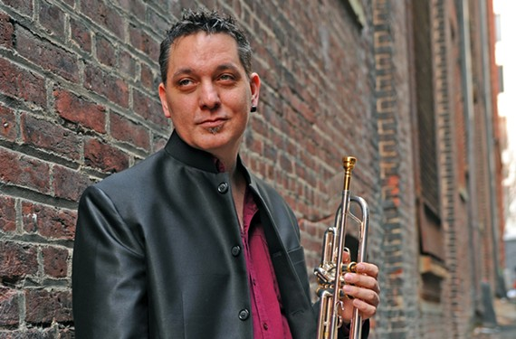 Music professor Rex Richardson is considered one of the best trumpet soloists in the world.