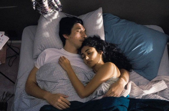 """Everywhere"" actor Adam Driver plays a bus driver and poet named Paterson and Golshifteh Farahani is his stay-at-home girlfriend in the latest oddball entry from director Jim Jarmusch (""Mystery Train"" and ""Dead Man"")."