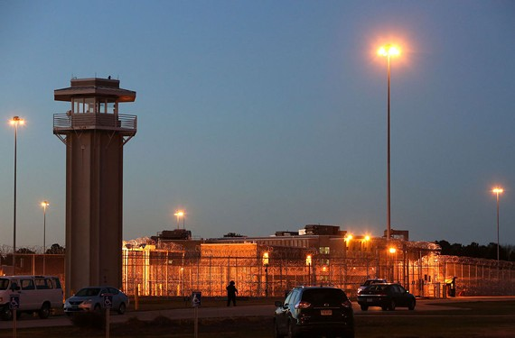 The Greensville Correctional Center in Jarratt, Virginia, where Ricky Gray was executed on Wednesday, January 18, 2017. Gray was sentenced to die in 2006 after being found guilty of killing Bryan Harvey; his wife, Kathryn and their two children.