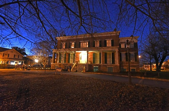 Despite the city's money troubles, Centre Hill Mansion was among museums reopened by the Petersburg Preservation Task Force in December.