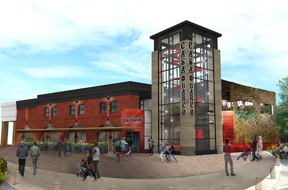 A rendering of the new Casa Del Barco to open  this summer.