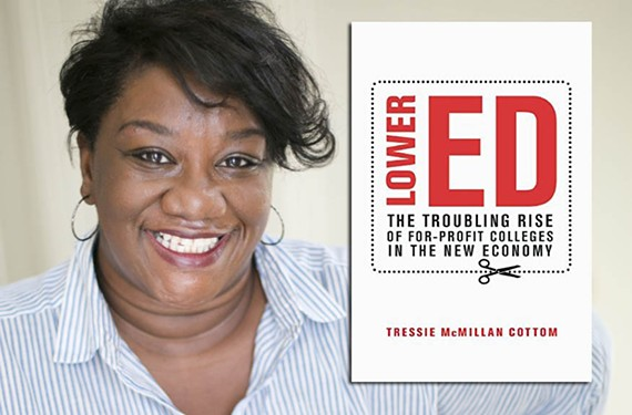 VCU professor Tressie McMillan Cottom writes about for-profit education in her new book.