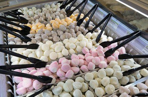 Whole Foods now carries the Japanese treat, mochi. It's been called the next macaron.