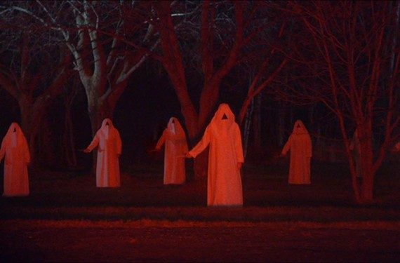 "Mysterious hooded figures wait outside the hospital. If you're a fan of John Carpenter and George Romero, you'll want to check out the supernatural siege horror film, ""The Void,"" playing at the Bijou Film Center."
