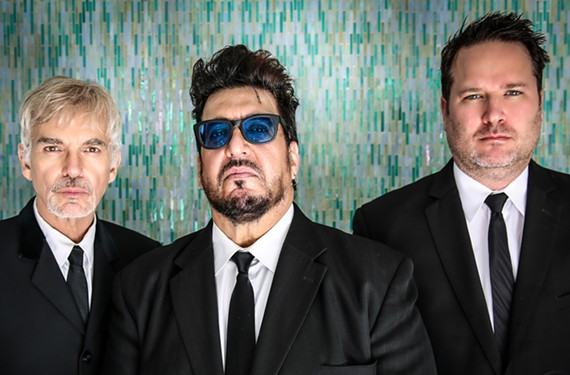 Drummer, singer and songwriter, Billy Bob Thornton, guitarist J.D. Andrew and keyboardist Teddy Andreadis are the Boxmasters. The band is celebrating 10 years together with a show at the Beacon Theatre in Hopewell.