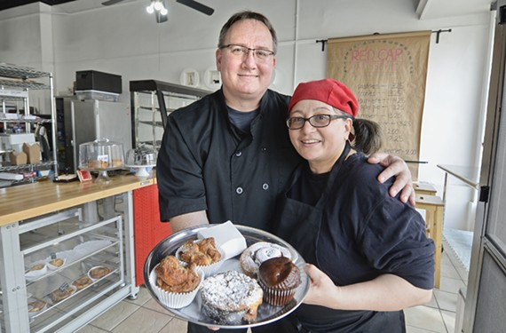 John and Martine Wladar are offering a creative take on French and European pastry at Red Cap Patisserie.