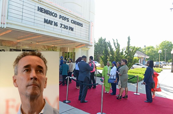 "Fans line up at Henrico Theatre to see the Mother's Day performance of ""I'll Always Love My Mama,"" which featured Joe Morrissey in a supporting role."