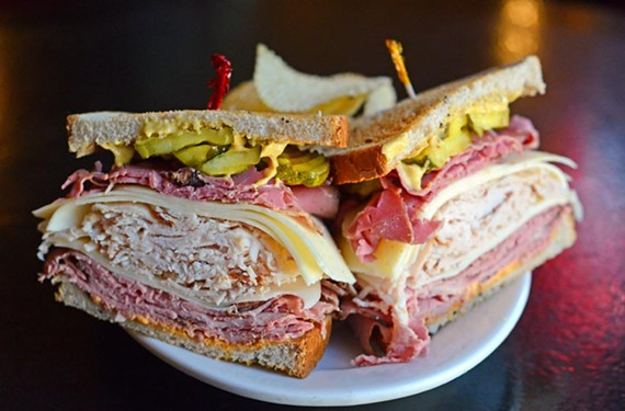 The Dagwood at Chiocca's Deli.