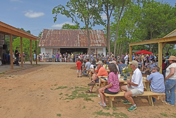 Shalom Farms celebrated the grand opening of their new Powhatan County farm on Saturday.