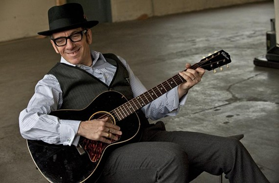 Elvis Costello and the Imposters at the Classic Amphitheater, Tuesday, June 20.
