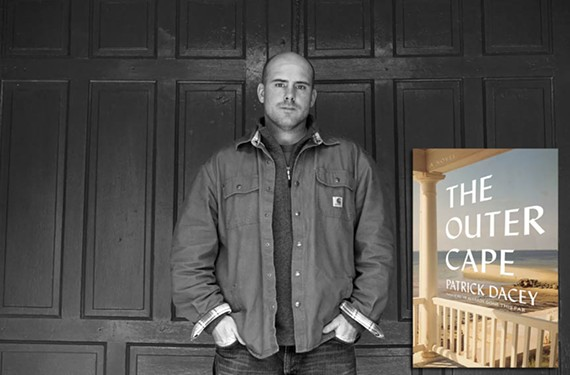 Author Patrick Dacey releases his first novel this week before launching a reading tour that will stop in Cape Cod, Massachusetts, where the book is set.