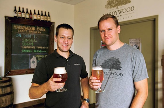 Hardywood co-founder Eric McKay (left) will be heading the Virginia Craft Brewers Guild this year.