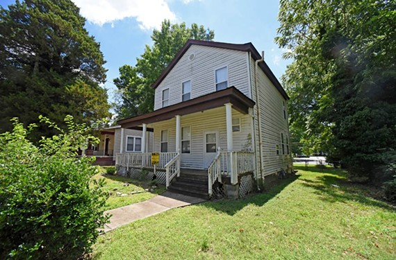 The Richmond Redevelopment and Housing Authority hopes some local homeowners will purchase and renovate houses such as this one at 3518 Moody Ave., assessed at $137,000. An auction of 26 units will be held Thursday.