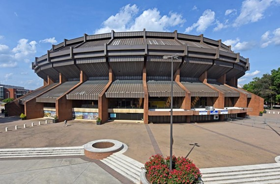 City leaders again are discussing replacement of the 1971 Richmond Coliseum, designed by Vincent Kling Associates of Philadelphia.