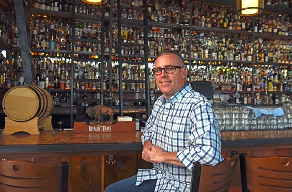 McCormack's Big Whisky Bar's owner Mac McCormack is collaborating with Reservoir Distillery to create his own signature bourbon.