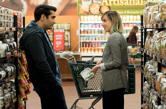 "Kumail Nanjiani, best-known from the HBO sitcom ""Silicon Valley,"" and Zoe Kazan, granddaughter of director Elia Kazan, play characters based on Nanjiani's real marriage in ""The Big Sick."""