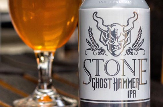 Ghost Hammer IPA, a new summer release from Stone Brewing, is an option for those seeking a tropical, floral experience in their hot weather brew.
