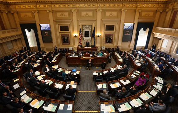 The Virginia House of Delegates.