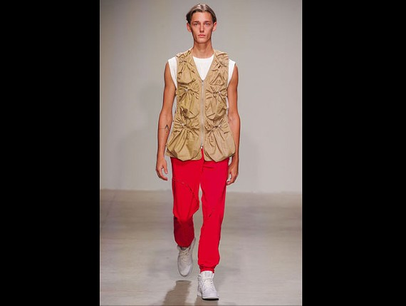 Trevor Allen Jones, 18, made his New York Fashion Week Menswear debut in Feng Chen Wang's Spring Summer 2018 collection on July 11, 2017. Jones signed this summer with IMG Worldwide modeling agency.
