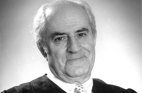 Judge Robert H. Merhige delivered many landmark decisions from the courthouse on Bank Street in Richmond, including ordering dozens of public schools to desegregate.