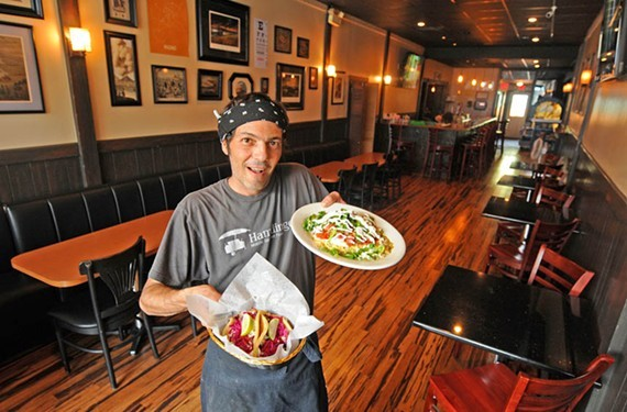 Nate Gutierrez, along with partner Hamooda Shami, is transforming their restaurant, 11 Months, into Best Friends Forever, a burrito spot a few doors down from their now-closed restaurant, Don't Look Back, which burned in July.