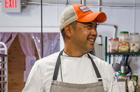Mike Ledesma isn't leaving his latest gig at Kabana Rooftop, but he will open a new Scott's Addition restaurant.