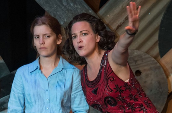 """""""Food, Clothing and Shelter"""" at the Firehouse Theatre Sept. 6-17."""