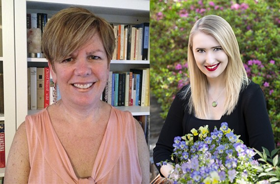 Richmond-based authors Patty Smith, at left, and Sarah Glenn Marsh will take part in panel discussions at the 15th annual James River Writers Conference held Oct. 13 - 15.