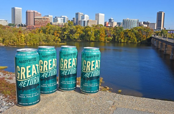 Among the offerings from beer-makers that support causes is Great Return from Hardywood Park Craft Brewery, which contributes part of the proceeds to the James River Association.
