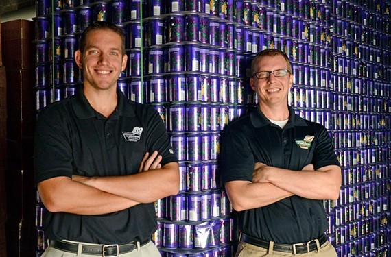 Brothers Chris and Phil Ray opened Center of the Universe Brewing Co. in Ashland in 2012.