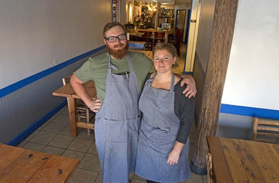 The Broken Tulip Social Eatery owners, Sariann Lehrer and David Crabtree-Logan, have started a communal-dining restaurant with a single prix fixe menu each night.