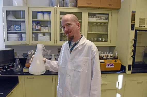 Malachy McKenna, owner of RVA Yeast Labs, supplies local breweries with yeast propagated from the region.
