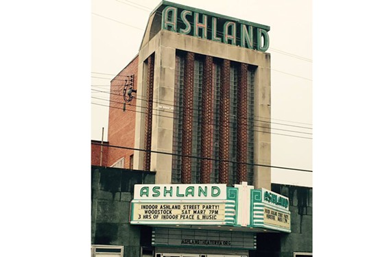 The Ashland Theatre has also announced the support of the Roller-Bottimore Foundation toward the historic restoration of the theatre's marquee.