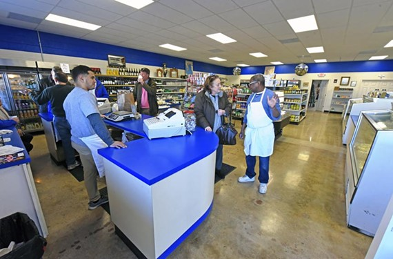 Nick's International Market no longer offers fresh deli sandwiches, but its new location is a haven for Greek groceries.