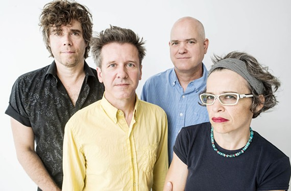 Formed in 1989 in Chapel Hill, North Carolina, Superchunk is Jon Wurster  on drums, Mac McCaughan on guitar and vocals, Jim Wilbur on guitar, and Laura Ballance on bass.