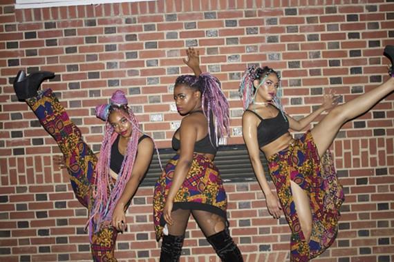 Mixed from Sxratch: Jade Goddess, Rajeanna, and Saiyda Divine.